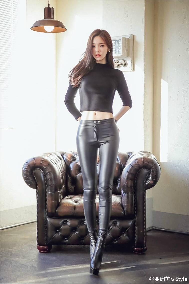 极美身材韩国90后高挑美女