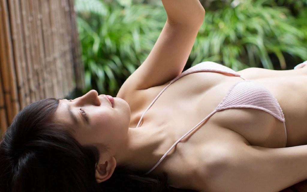 日本漂亮的素颜女孩